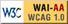 Acessibilidade. W3C: Nível de conformidade WAI-AA WCAG 1.0